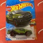 19 Ford Ranger Raptor #236 Green 8/10 Hot Trucks 2021 Hot Wheels Case P